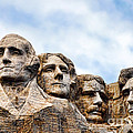 Mount Rushmore Monument by Olivier Le Queinec