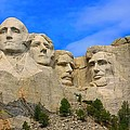 Mount Rushmore South Dakota by Amanda Stadther