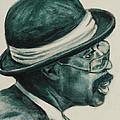 Mr Bowler Mustache by Xueling Zou