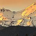 Mt. Shasta Sunset Panorama by Ken Brown