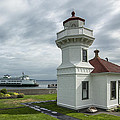 Mukilteo Lighthouse by Bob Stevens