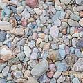 Natural Rock Pebble Backgorund by Shaun Wilkinson