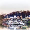 On Boathouse Row by Bill Cannon
