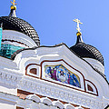 Nevsky Cathedral - Tallin Estonia by Jon Berghoff