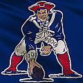 New England Patriots Uniform by Joe Hamilton