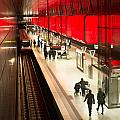 New Hafencity Station In Hamburg by Frank Gaertner