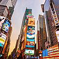 New York City - Times Square by Luciano Mortula