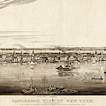 New York City, 1840 by Granger