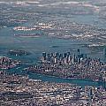 New York City Aerial by Artjom Skljarov