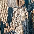 New York City Manhattan Midtown Aerial Panorama View With Skyscr by Alex Grichenko