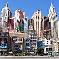 New York New York Casino by Mariusz Blach