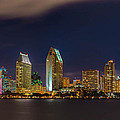 Cityscape San Diego Bay by Michelle Choi