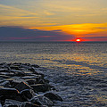 North Wildwood Sunrise by Bill Cannon