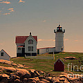 Nubble Light by K Hines