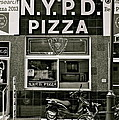 N.y.p.d. Pizza by Ira Shander