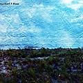 Ocean As A Painting by Karl Rose