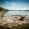 Ohio River At Elizabethtown Illinois by Warrena J Barnerd