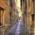 Old Colorful Stone Alley by Mats Silvan
