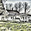 Old Farm House by Jim Lepard