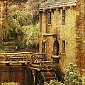 Old Mill In Arkansas by Karen Beasley