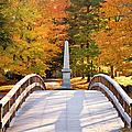 Old North Bridge Concord by Brian Jannsen