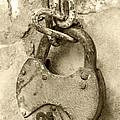 Old Padlock by Lali Kacharava