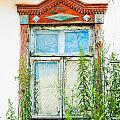 Old Wooden Window by Alain De Maximy