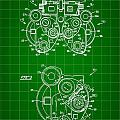 Optical Refractor Patent 1985 - Green by Stephen Younts