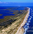Outer Banks Aerial by Thomas R Fletcher