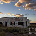 Painted Desert Trading Post At Sunset by Rick Pisio