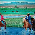 Paiute Cattlemen by Joseph Juvenal