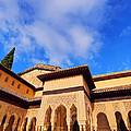Palacios Nazaries In Granada by Karol Kozlowski