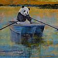 Panda Reflections by Michael Creese