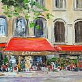 Paris Cafe by Luke Karcz