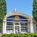Pavilion In Kiev's National Complex  by Alain De Maximy