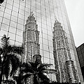 Petronas Towers Reflection by Shaun Higson
