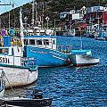Petty Harbour by Perla Copernik