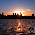 Philadelphia Sunset by Olivier Le Queinec