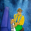 Piano Man by Pamela Allegretto