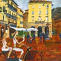 Piazza De Como by Gregory Allen Page