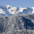Pikes Peak Snow by Steve Krull
