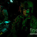 Pilots Equipped With Night Vision by Terry Moore