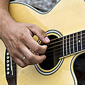 Playing Guitar by Paulo Goncalves