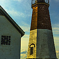 Point Judith Lighthouse by Diane Diederich