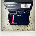 Polaroid camera.  by Les Cunliffe