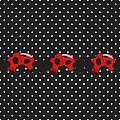 Polka Dot Lady Bugs by Debra  Miller