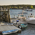 Port Clyde Maine Boats And Harbor by Keith Webber Jr