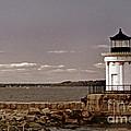 Portland Breakwater Lighthouse by Skip Willits
