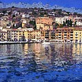Porto Stefano In Italy by George Atsametakis