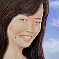Portrait Of A Filipina Beauty by Jim Fitzpatrick